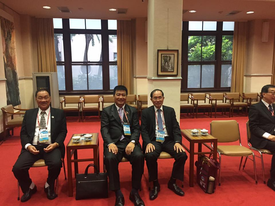 TAP visits Taiwan Government 2016